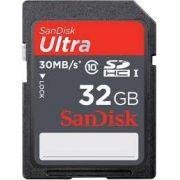 Cartão de memória SanDisk Ultra SDHC Card 32GB 30MB/s