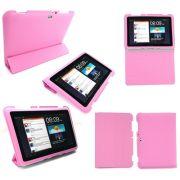 Capa Smart Cover Samsung Galaxy Tab 8.9 P7300 / P7310 - Cor Rosa