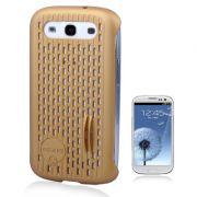 Capa Mash Vent para Samsung Galaxy SllI S3 - Cor Dourado