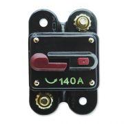 Disjuntor Automotivo 140A Proteção Som Resetável Liga Desliga