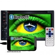 Dvd Automotivo 2 Din 6.2 First Option Multimídia MDI-8805M SD Usb Bluetooth Gps Espelhamento