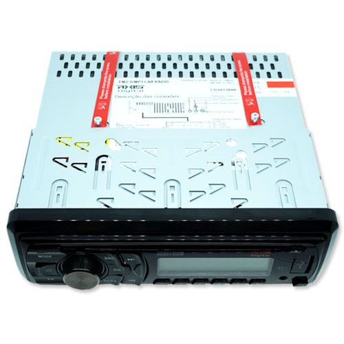 Cd Mp3 Player Automotivo Toca Som Axis Digital Usb Sd Aux Fm Am  - BEST SALE SHOP