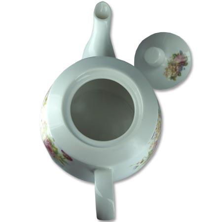 Chaleira de Porcelana Brilho de Diamante Bcyc-1604 Branco 650Ml  - BEST SALE SHOP