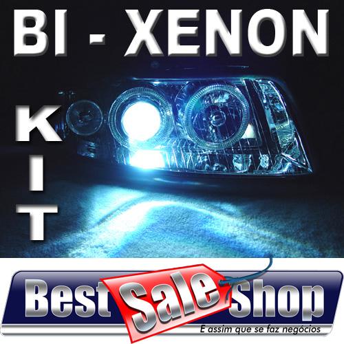 Kit Bi Xenon Carro 12V 35W Rayx H4-3 12000K  - BEST SALE SHOP