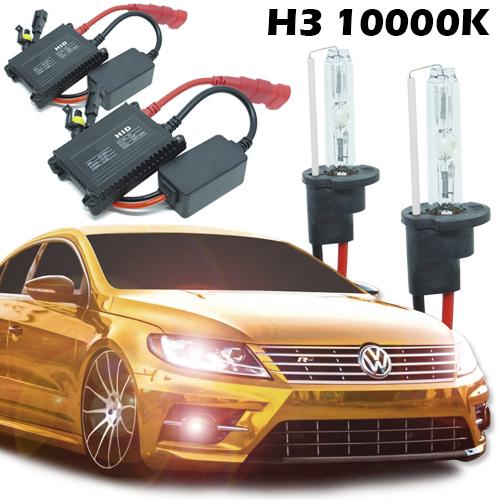 Kit Xenon Carro 12V 35W H3 10000K  - BEST SALE SHOP