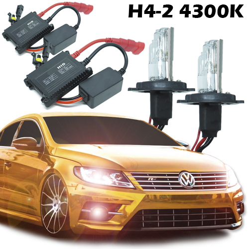 Kit Xenon Carro 12V 35W H4-2 4300K  - BEST SALE SHOP