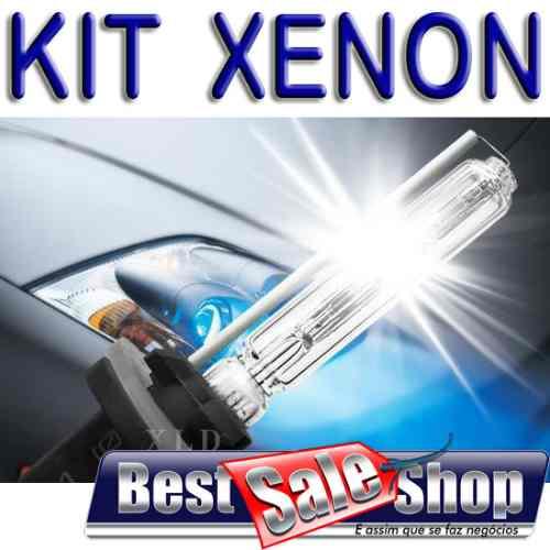 Kit Xenon Carro 12V 35W Importado H27 6000K  - BEST SALE SHOP