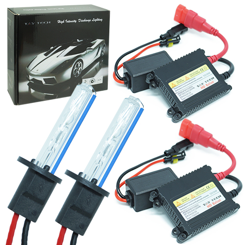 Kit Xenon Carro 12V 35W Tay Tech H1 8000K  - BEST SALE SHOP