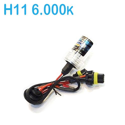 Lâmpada Xenon Reposição 12V 35W H1 6000K  - BEST SALE SHOP