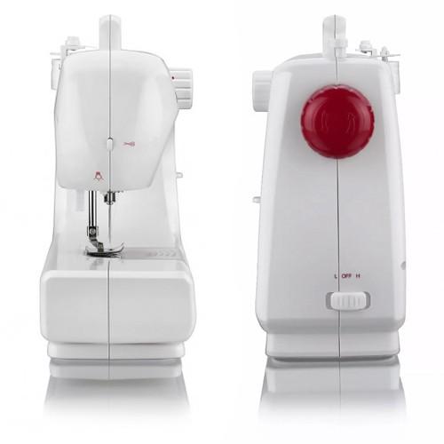 Máquina de Costura Portátil Bivolt Elgin Bella BL 1200 com Pedal Luz Alça Inmetro  - BEST SALE SHOP