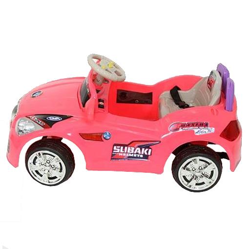 Mini Carro Elétrico Infantil 6V Importway BW001-R Rosa  - BEST SALE SHOP