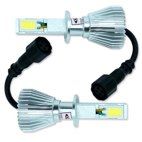 Par Lâmpada Super Led 6400 Lumens 12V 24V 32W Seven Parts H1 6000K  - BEST SALE SHOP