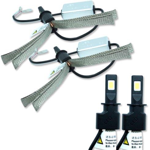 Par Lâmpada Super Led 6400 Lumens 12V 24V Manta Flex 6000K  - BEST SALE SHOP
