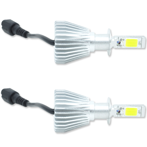 Par Lâmpada Super Led 6400 Lumens 12V 24V 32W Velox Parts H3 6000K  - BEST SALE SHOP