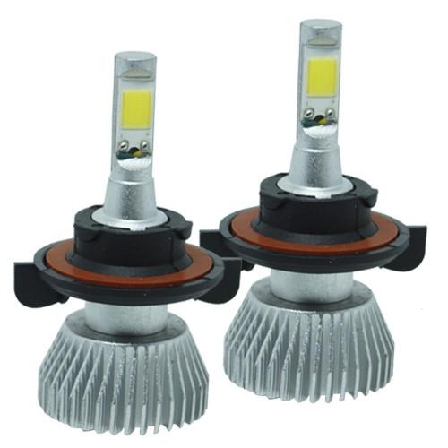 Par Lâmpada Super Led 6400 Lumens 12V 24V 35W Shocklight H13 (Bi) 6000K  - BEST SALE SHOP
