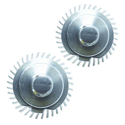 Par Lâmpada Super Led 6400 Lumens 12V 24V 35W Shocklight H7 6000K  - BEST SALE SHOP