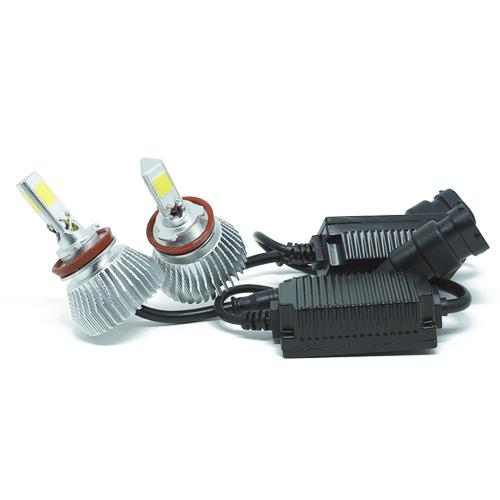 Par Lâmpada Super Led 7400 Lumens 12V 24V 40W Cinoy 3D H8 6000K  - BEST SALE SHOP