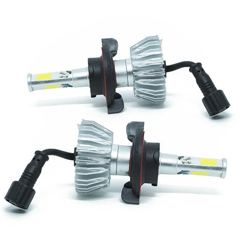Par Lâmpada Super Led 8000 Lumens 12V 24V 48W Seven Parts 3D H13 (Bi) 6000K  - BEST SALE SHOP