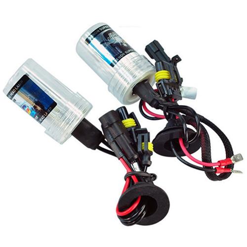 Par Lâmpada Xenon Reposição 12V 35W H8 6000K  - BEST SALE SHOP