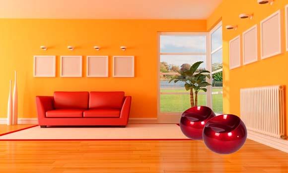Puff Redondo Decorativo Rígido Abs Maua Design 602725 Branco  - BEST SALE SHOP