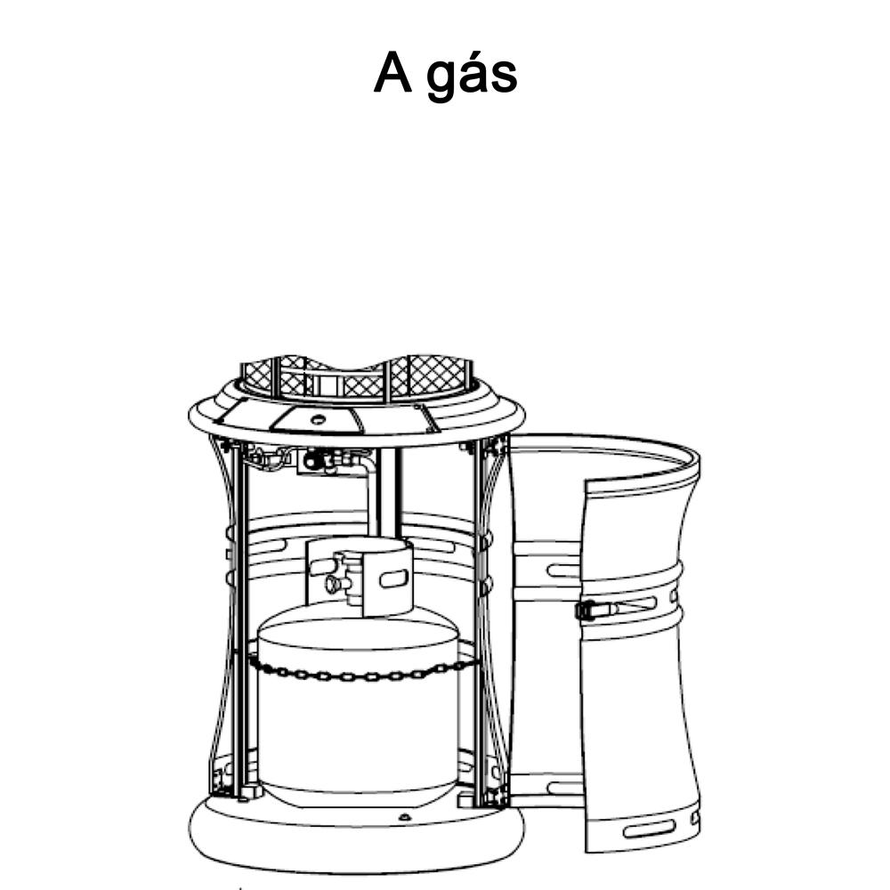 Aquecedor a Gás Externo CrissAir