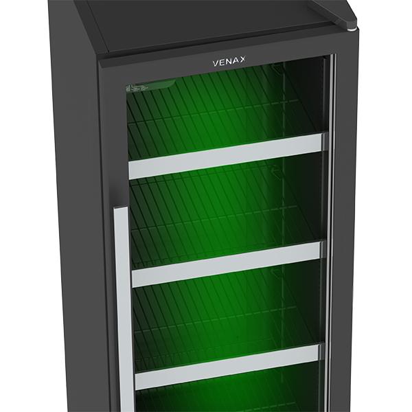 Cervejeira Color Light Instalação Livre  200LT  EXPVQCL200 Venax