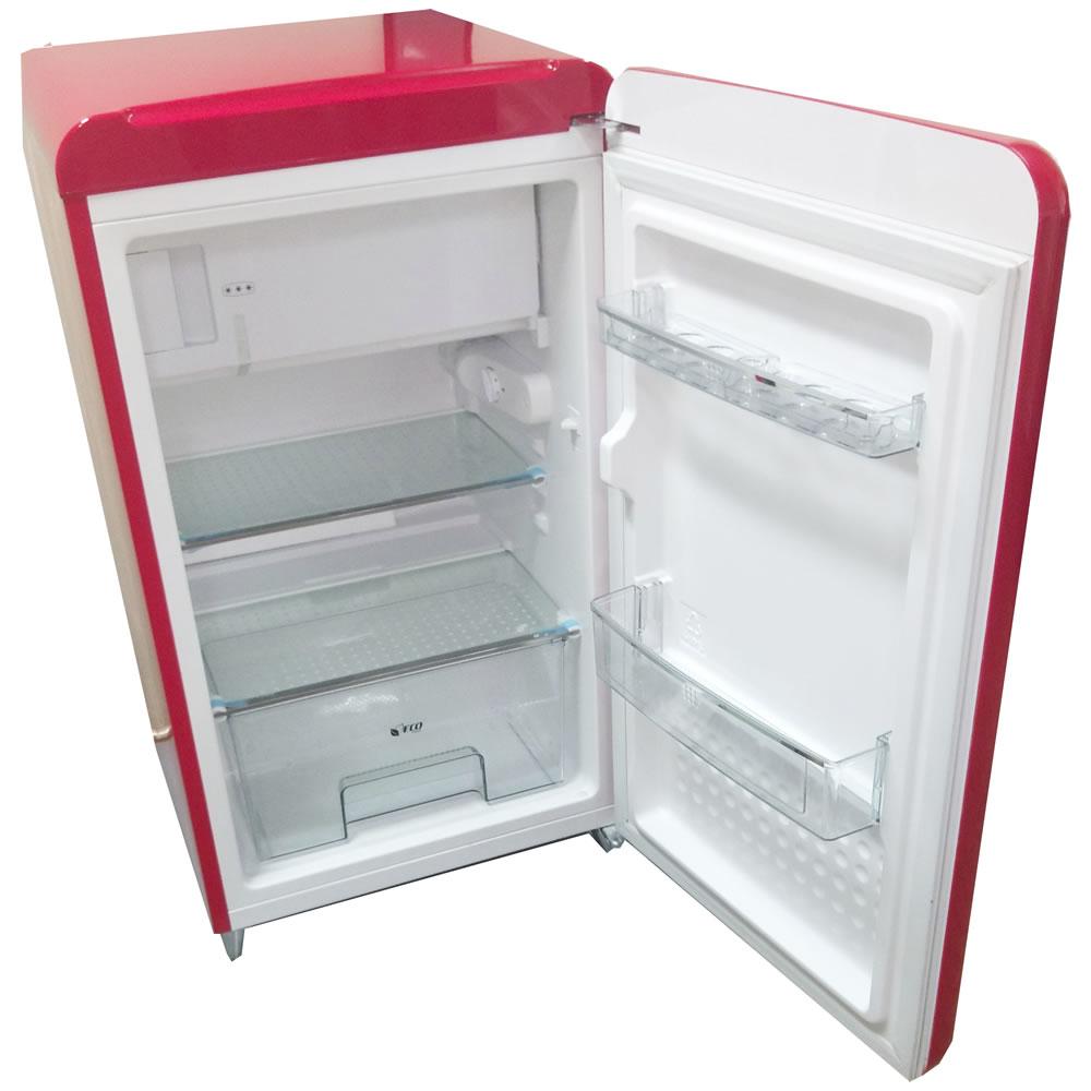 Refrigerador Mini Retrô Customizado Jack Daniel's Vermelho CrissAir