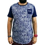 Camiseta Jardim do Éden Masculina Azul - #REINODEPONTACABEÇA