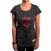 Camiseta Coração Jesuscopy Feminina - #REINODEPONTACABEÇA