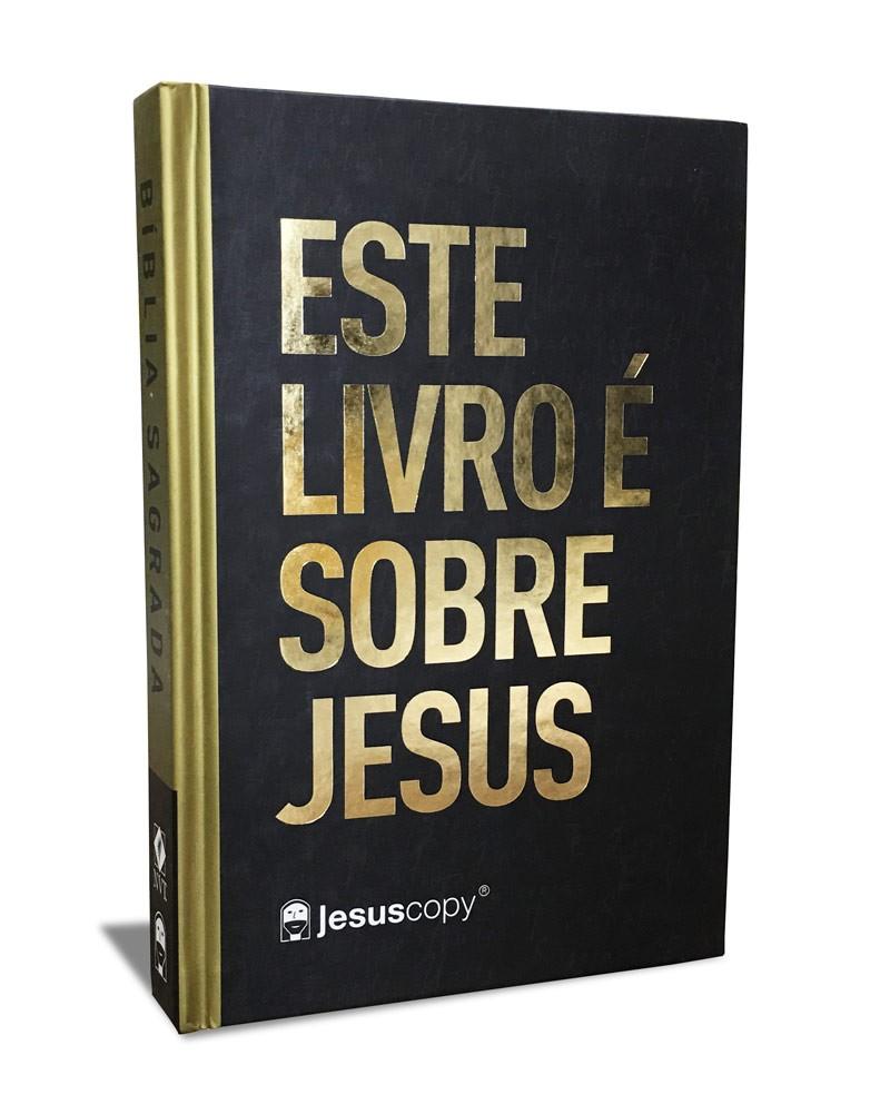 Bíblia JesusCopy -  Este livro é sobre Jesus - NVT  - Jesuscopy