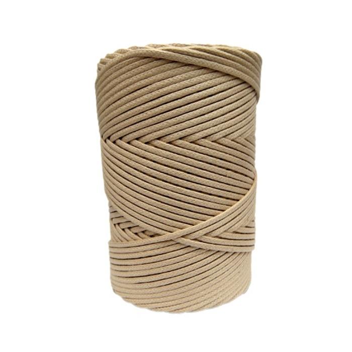 Cordão encerado grosso Mel (0082) 10mts- CDG010