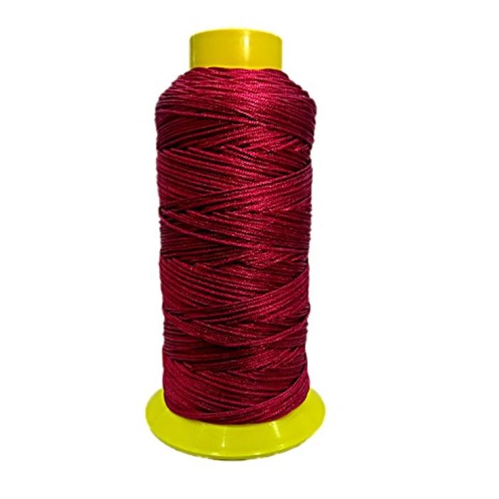 Cordão de seda fino vinho (10mts)- FS008