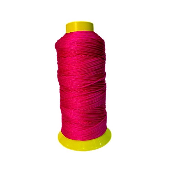 Cordão de seda fino Pink- FS016 ATACADO
