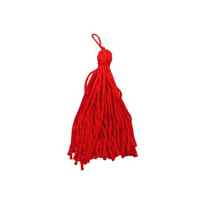 Pingente de seda vermelho (100 unid.)- FRAN009 ATACADO