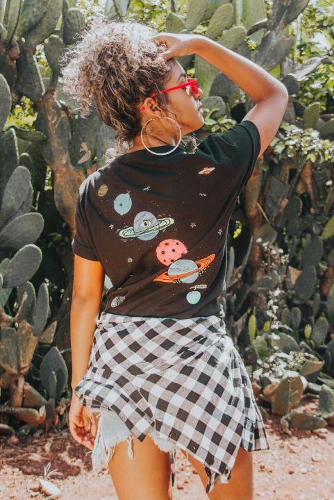 T-shirt Planetas