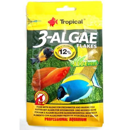 Tropical 3 Algae Flakes 012 grs ( NOVO )