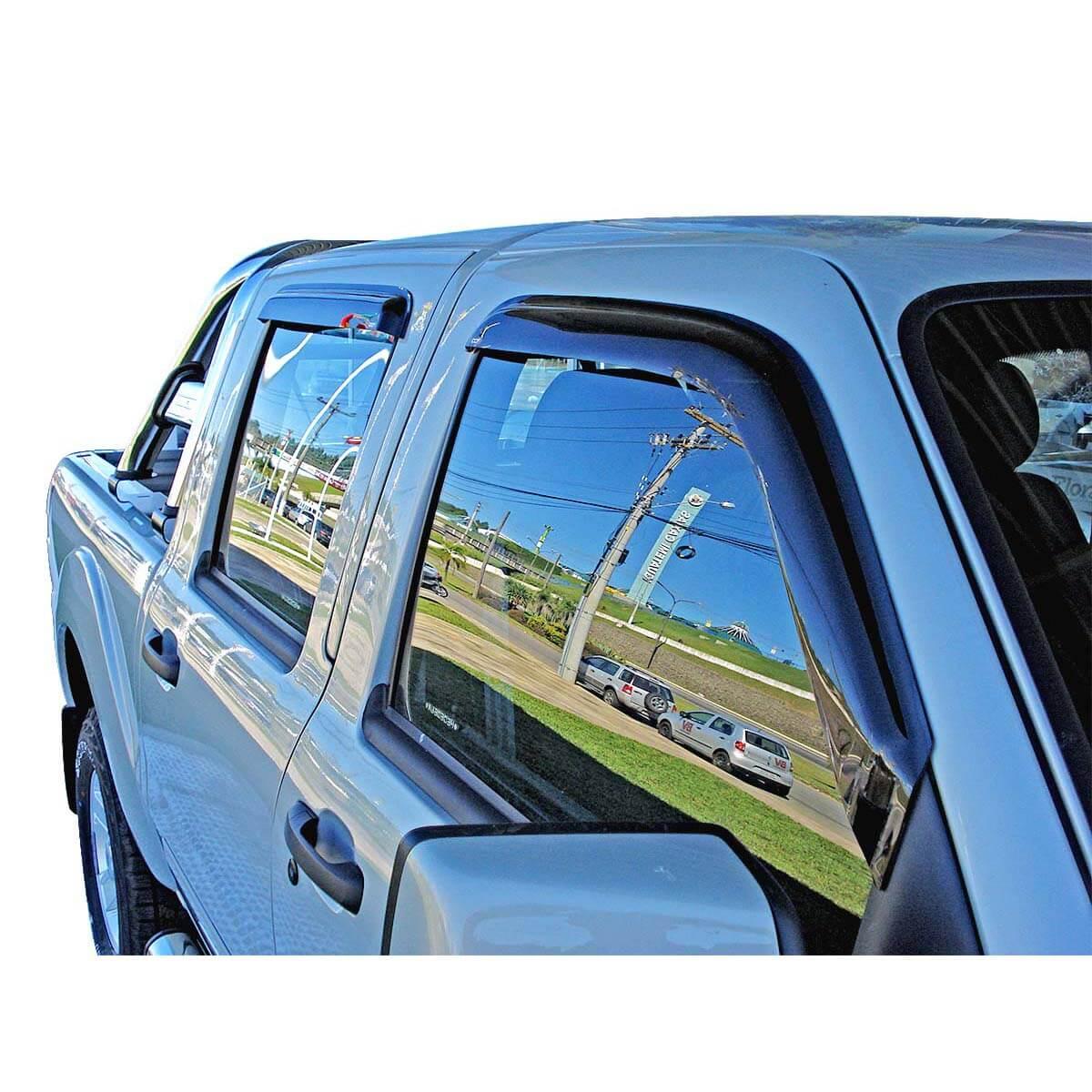 Calha de chuva S10 cabine dupla 1997 a 2011