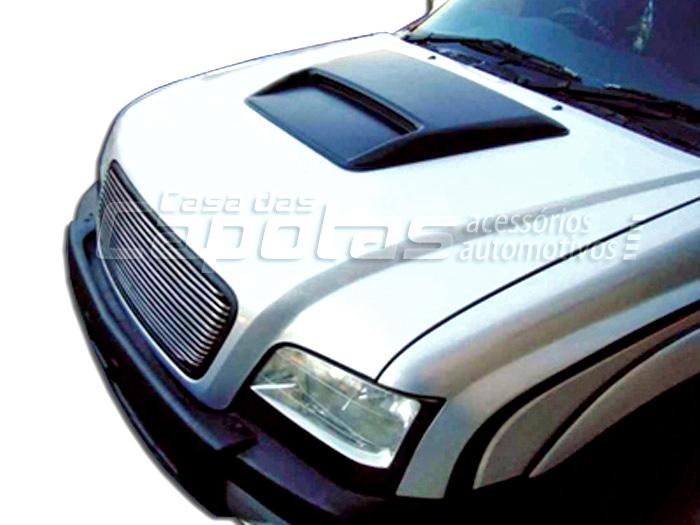 Entrada de ar scoop capô S10 ou Blazer 1996 a 2011 modelo da S10 2009