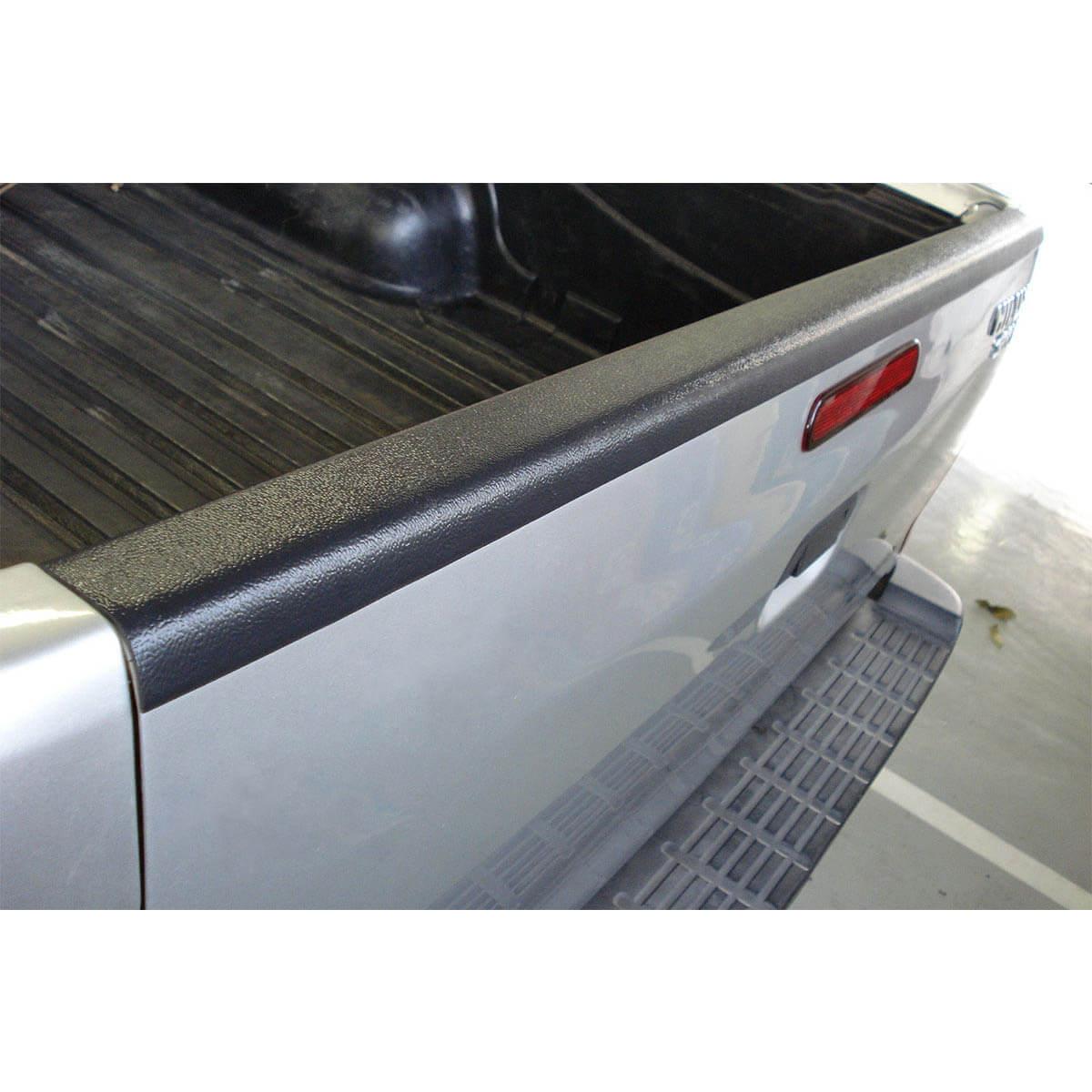 Protetor borda tampa caçamba Bepo Nova S10 cabine dupla 2012 a 2018