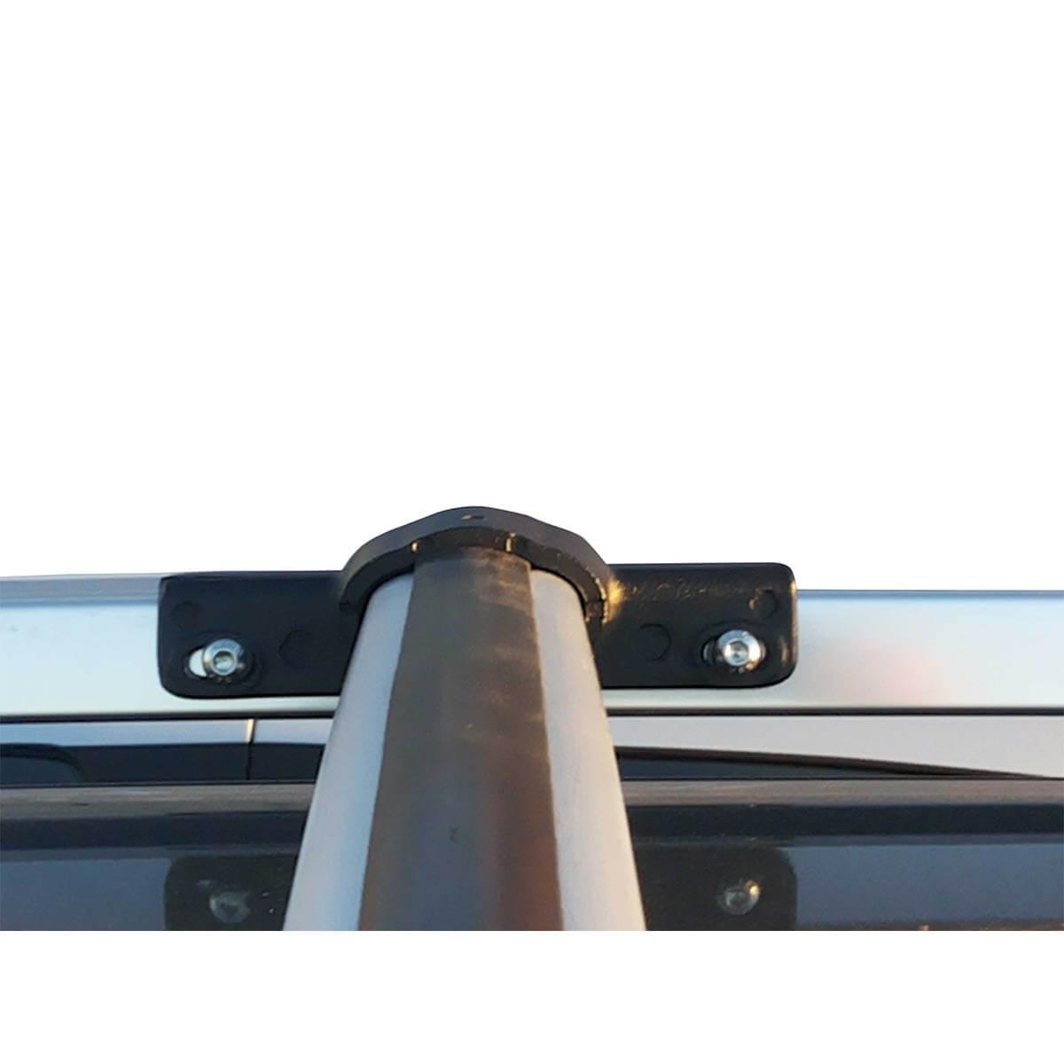 Travessa rack de teto Trailblazer 2013 a 2018 fixação original kit 3 peças