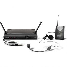 Microfone s/ Fio Headset / Lapela / Instrumento / UHF UH 01 HLI - Lyco