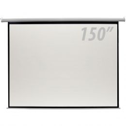 Tela de Projeção 150 Polegadas Elétrica c/ Controle Remoto - CSR