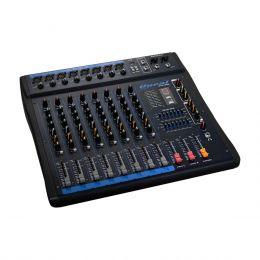 Mesa de Som 8 Canais XLR Balanceados c/ USB / Efeito / Phantom / 1 Auxiliar - OMX 800 Oneal