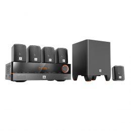 CinemaJ5100 - Home Theater c/ Receiver 5.1 Canais 4 HDMI, 5 Caixas e 1 Subwoofer Cinema J5100 110V - JBL