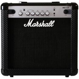 Cubo Ativo p/ Guitarra Fal 8 Pol 15W Carbon Fibre - MG 15 CF Marshall