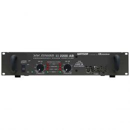 Amplificador de Potência 550W 4 Ohms -  W POWER II 2200 AB Ciclotron