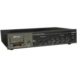 Amplificador Som Ambiente 200W até 40 Caixas c/ USB / Bluetooth - SLIM 3000 Optical Frahm
