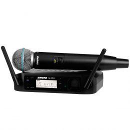 Microfone s/ Fio de Mão - GLXD 24BR / BETA 58 Shure