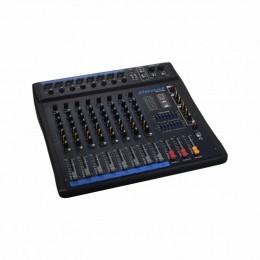 Mesa de Som 8 Canais XLR Balanceados c/ USB / Efeito / Phantom / 1 Auxiliar - OMX 802 Oneal