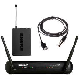 Microfone s/ Fio Lapela - SVX 14 BR/CVL Shure